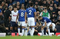 Coleman visited the Spurs dressing room to console Son after Gomes' horror injury