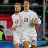 Denmark name strong 20-man squad for Euro 2020 showdown with Ireland