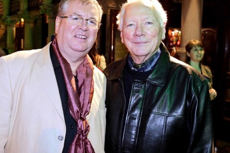 Joe Duffy and Gay Byrne worked together for many years.
