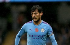 Man City captain Silva set to miss top-of-the-table trip to Liverpool