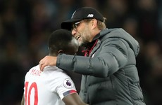 'Mane is not a diver!' Klopp defends his star after Guardiola criticism
