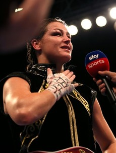 Katie Taylor is becoming their champion as well as our own