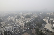 New Delhi under 'worst smog levels in recent years' from fumes, emissions and straw burning
