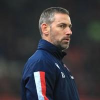 Ex-Ireland international's first game in senior management ends in defeat