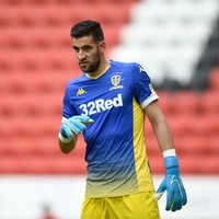 Leeds goalkeeper charged with racial abuse