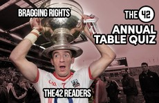 The42's Big, Big Sports Table Quiz is coming to Cork next week