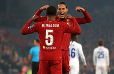 As it happened: Liverpool v Genk, Champions League