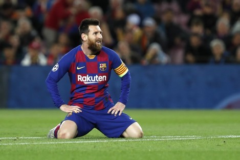 Barcelona's Lionel Messi failed to convert a number of chances.