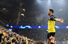 Dortmund come from two down to shock Inter on wild Champions League night