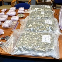 Two arrested following seizure of drugs worth €170,000 at a number of homes in Roscommon