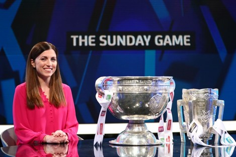 The Sunday Game presenter Joanne Cantwell.
