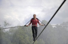 Daredevil gets set for Niagara Falls tightrope crossing
