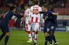 You won't see many crazier goals than Tottenham's opener tonight