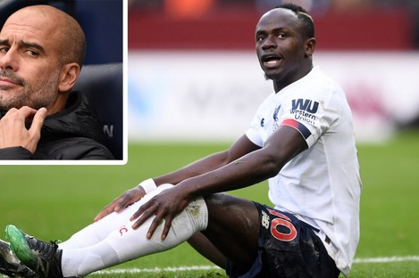 Sadio Mane is not paying attention to Pep Guardiola's criticism.