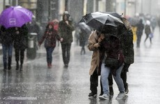 It's another dull and wet day as Status Yellow rainfall warning still in place for 5 counties
