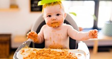 8 products that made weaning easier in my house - starting with a goo-repellent bib