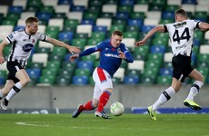 Dundalk come from behind to secure draw against Linfield