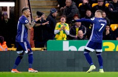 Watford climb off bottom after picking up first win of the season at Norwich