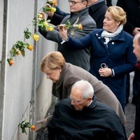 Merkel calls for 'human rights and tolerance' as Germany marks 30 years since fall of Berlin Wall