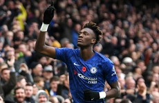 Abraham reaches 10 Premier League goals as Chelsea go second
