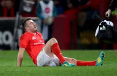 Hanrahan hamstring an added concern for Munster ahead of European campaign