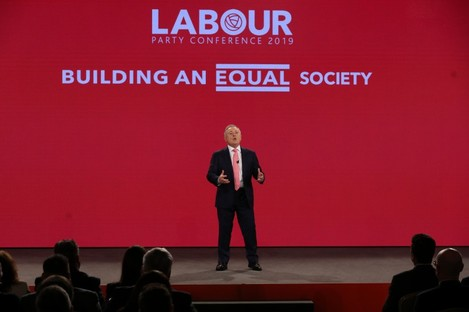 Howlin spoke to party delegates at the party's annual conference last night.