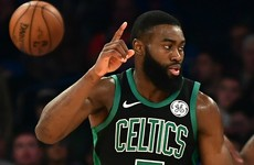 Celtics go seven-in-a-row, Warriors lose and red-hot Harden sparks Rockets