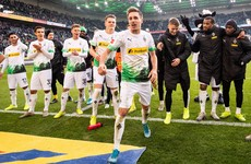 'Gladbach restore four-point lead at top of Bundesliga