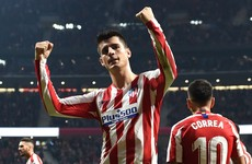 Morata scores for 6th game running at Atletico stay in touch at the top in Spain