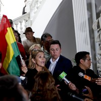 Future interim Bolivian president promises new elections amidst pro-Morales protests