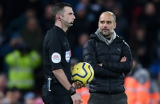 'It was not sarcastic' - Guardiola defends post-match greeting of referee