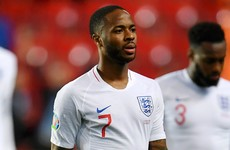 Sterling dropped by England for Montenegro clash after bust-up with Gomez