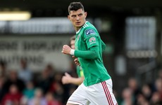 Cork City announce departure of striker Cummins