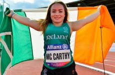 World Bronze for Cork's McCarthy as discus hero lands Ireland's first medal in Dubai