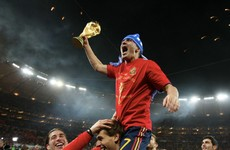 Spain's record goal-scorer David Villa announces retirement