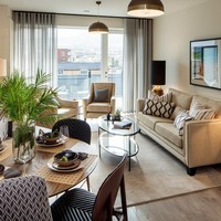 Spacious one and two-bed apartments in south Dublin from €295k
