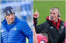 Planning and prep paves the way for new forwards coaches in Munster and Leinster