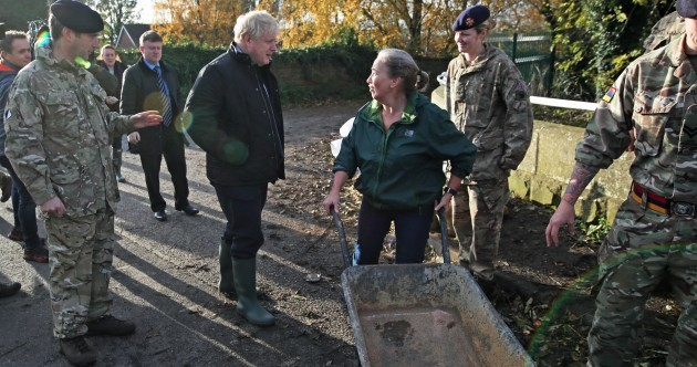 'I'm not very happy about talking to you': Boris Johnson's visit to flood victims went about as expected