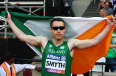 Gold for Ireland as Smyth sets championship record to clinch World 100m title
