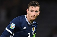 Liverpool's Robertson defends decision to pull out of Scotland squad for Euro qualifiers
