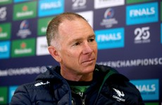 Marmion out for 3-4 weeks as depleted Connacht prepare for Montpellier