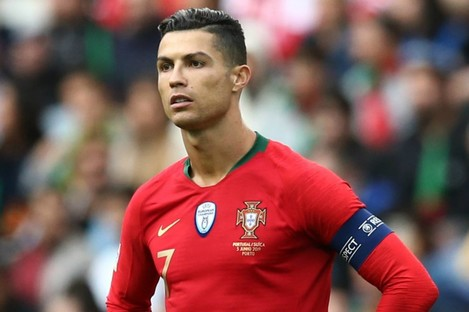 Portugal forward Cristiano Ronaldo.