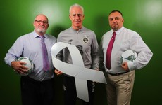 Here's why the Irish team will be wearing white ribbons on Monday night