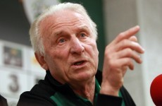 Going nowhere: Trapattoni vows to continue as Irish manager