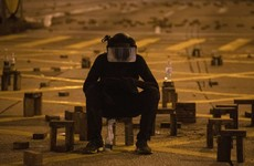 Man dies in Hong Kong as government condemns 'malicious' protests