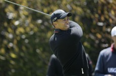 Woods seizes US Open lead, McIlroy on the brink of exit