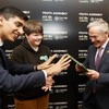 Youth Assembly presents minister with recommendations on climate change after Dáil debate
