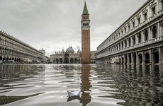 St Mark's Square in Venice re-opens after major flooding