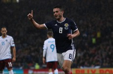 Christie and McGinn hit the net as understrength Scotland defeat Cyprus