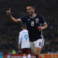 Christie and McGinn hit the net as understrength Scotland defeat Cyprus